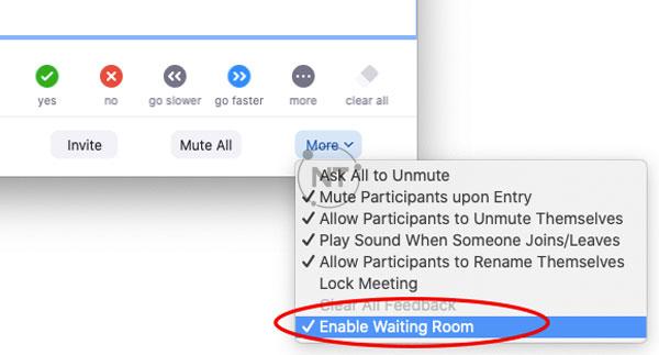 Cách bật và tắt xét duyệt người tham gia trên Zoom